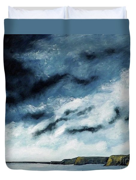 Santa Rosa Lake 2 Duvet Cover
