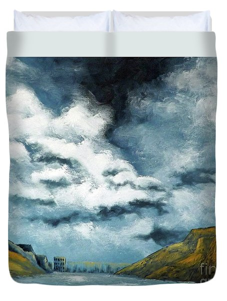 Santa Rosa Lake 3 Duvet Cover