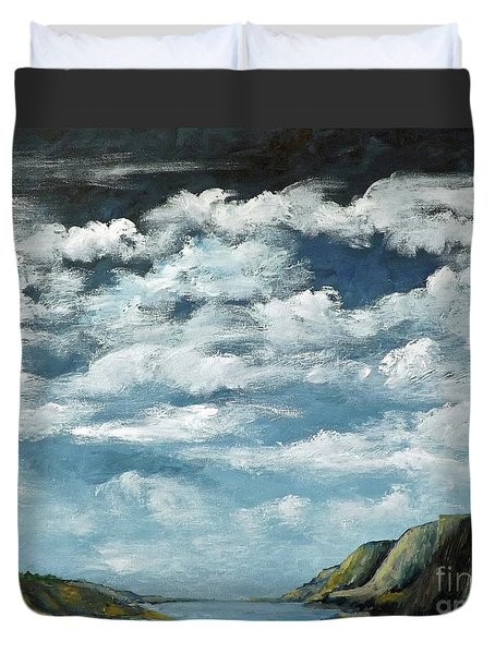 Santa Rosa Lake 4 Duvet Cover