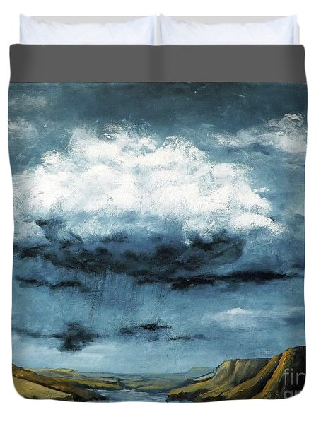 Santa Rosa Lake 5 Duvet Cover