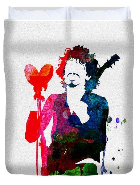 Santana Watercolor Duvet Cover