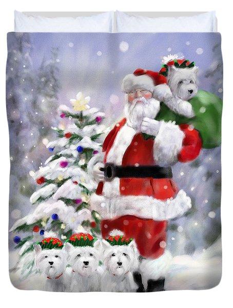 Santa's Helpers Duvet Cover