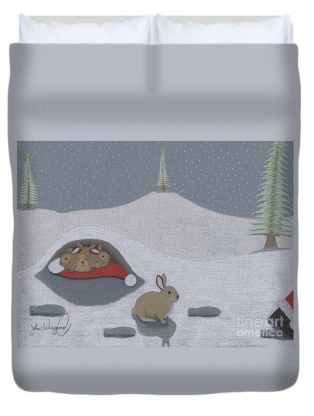Santa's Ultimate Gift Duvet Cover