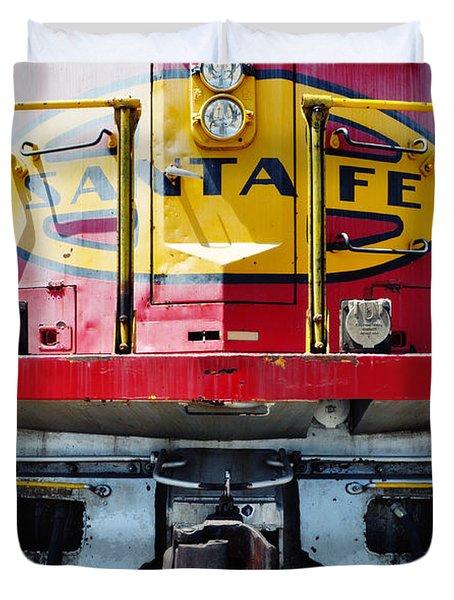 Sante Fe Railway Duvet Cover