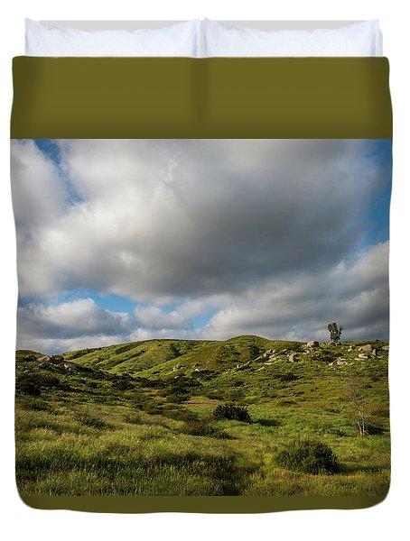 Santee Rocks Spring Duvet Cover