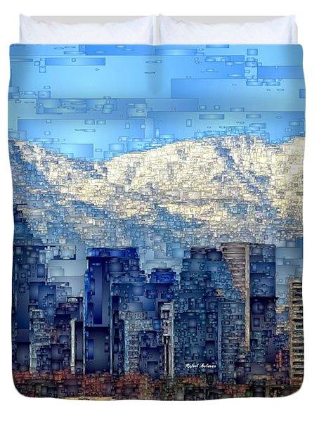 Santiago De Chile, Chile Duvet Cover