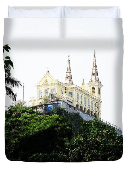 Santuario Da Penha Duvet Cover