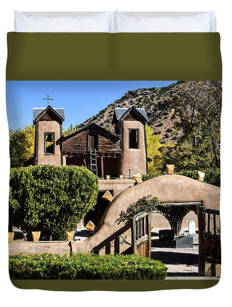 Santuario De Chimayo Duvet Cover