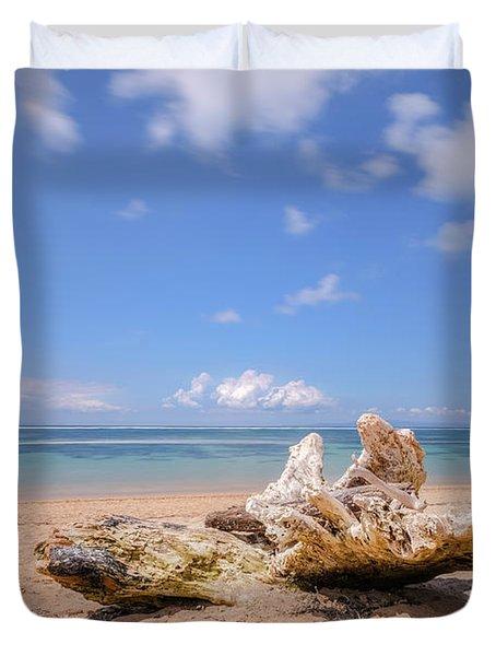 Sanur Beach - Bali Duvet Cover