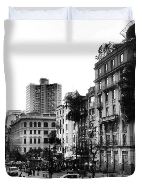 Sao Paulo Downtown #pracaantonioprado Duvet Cover