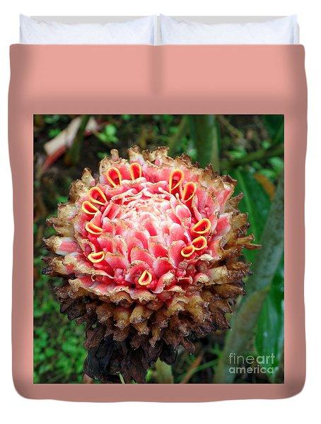 Sao Tome Blosssom Duvet Cover