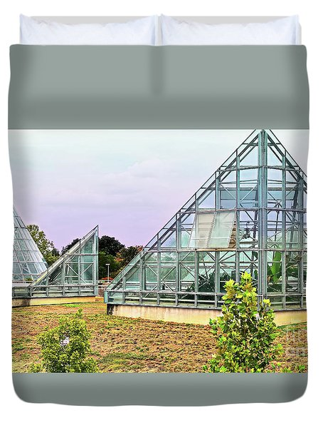 Saolariums At San Antonio Botanical Gardens Duvet Cover