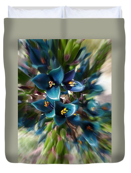 Saphire Tower Duvet Cover