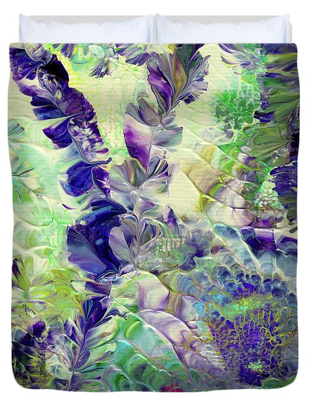 Sapphire Violet Duvet Cover