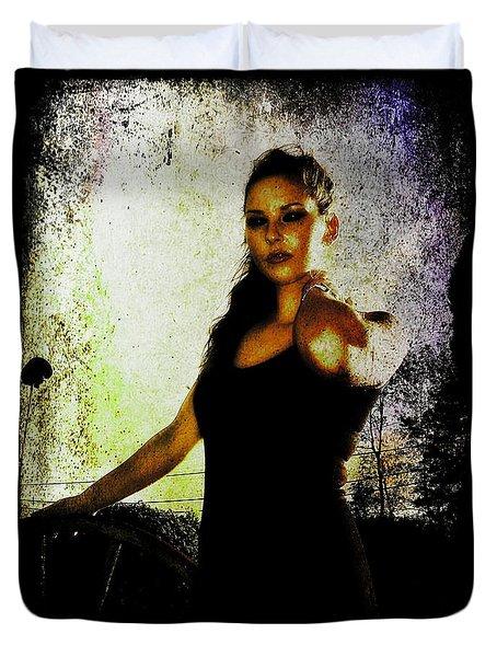 Sarah 1 Duvet Cover by Mark Baranowski