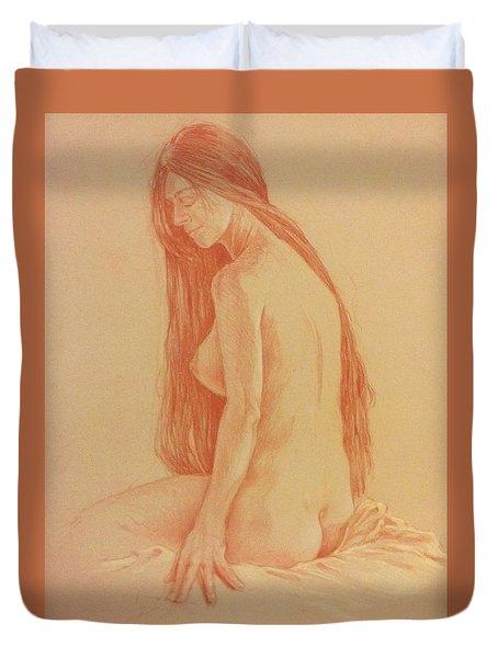 Sarah #2 Duvet Cover