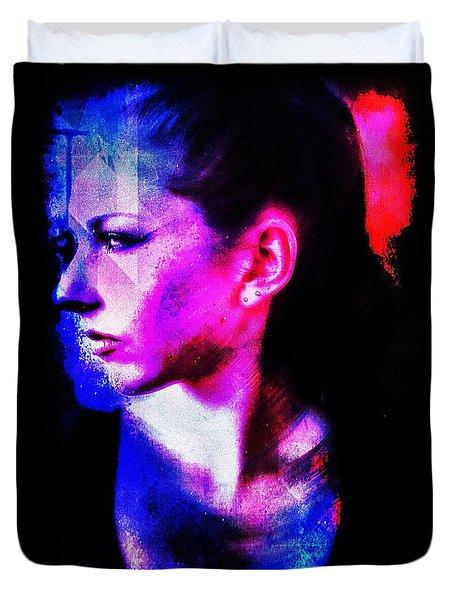Sarah 2 Duvet Cover by Mark Baranowski