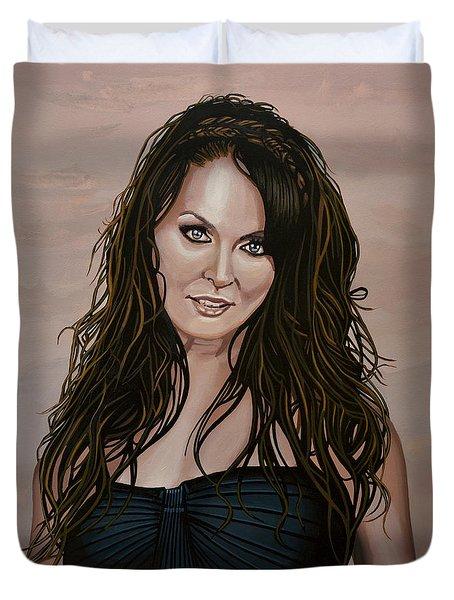 Sarah Brightman Duvet Cover