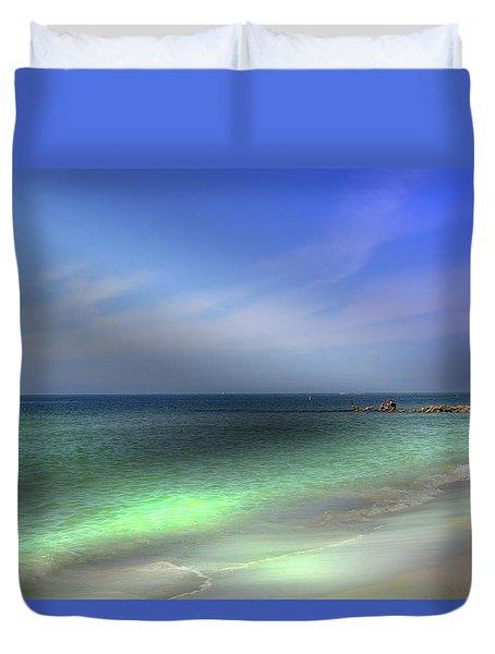 Sarasota Ocean  Duvet Cover
