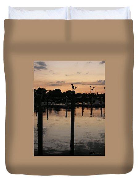 Sarasota Sunset1 Duvet Cover