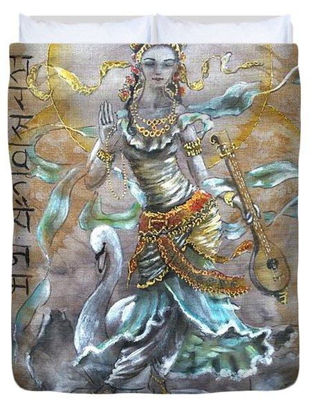 Saraswati  Duvet Cover