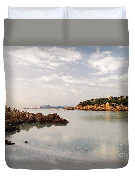 Sardinian Coast I Duvet Cover