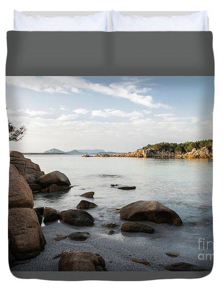 Sardinian Coast Duvet Cover