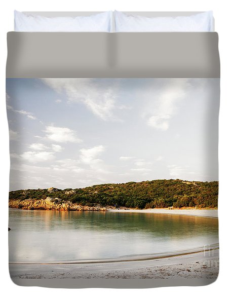 Sardinian View Duvet Cover by Yuri Santin