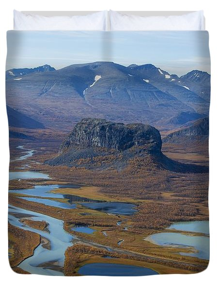Sarek Nationalpark Duvet Cover