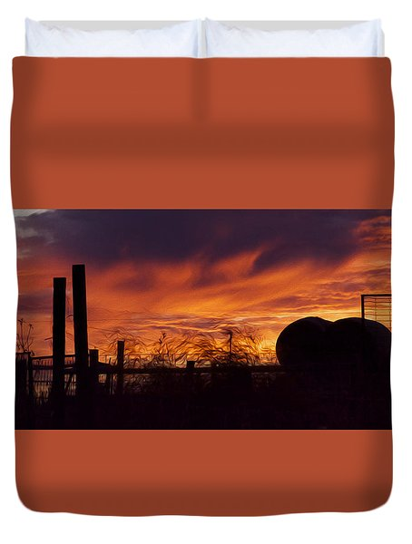 Saskatchewan Duvet Cover by Ellery Russell
