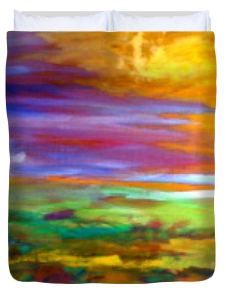 Saskatchewan  Duvet Cover