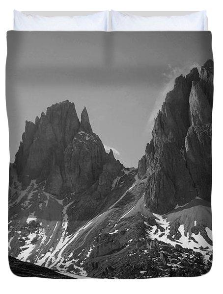 Sasso Lungo Duvet Cover by Juergen Weiss