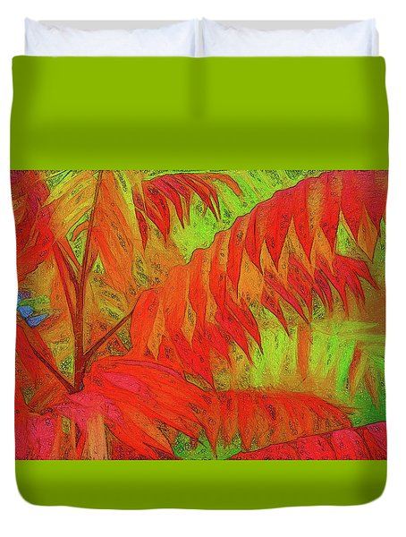 Sassyfras Duvet Cover by Terry Cork