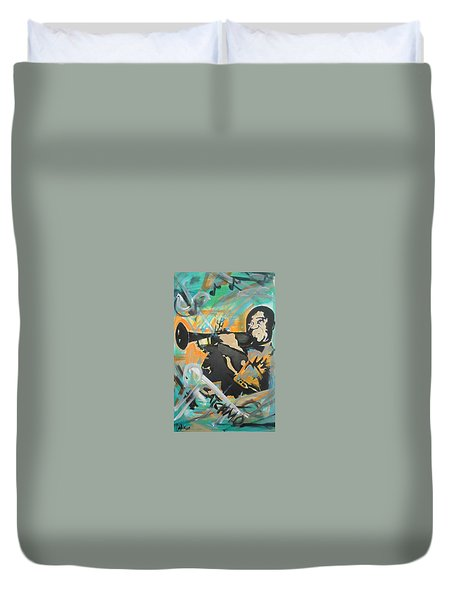 Satch Armstrong Duvet Cover