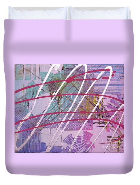 Satellites Duvet Cover