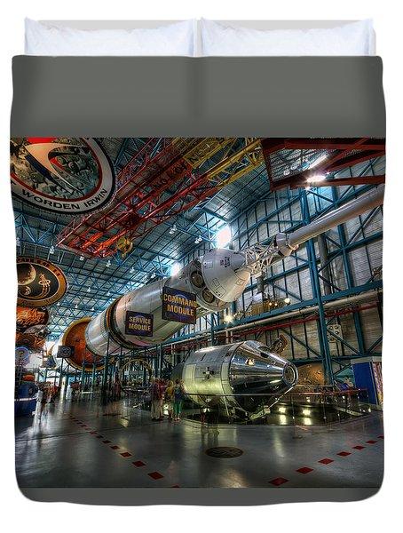 Saturn 5 Duvet Cover