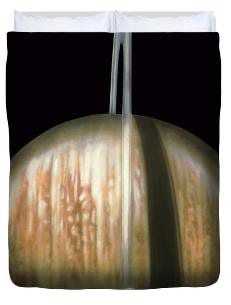 Saturn Rising Duvet Cover