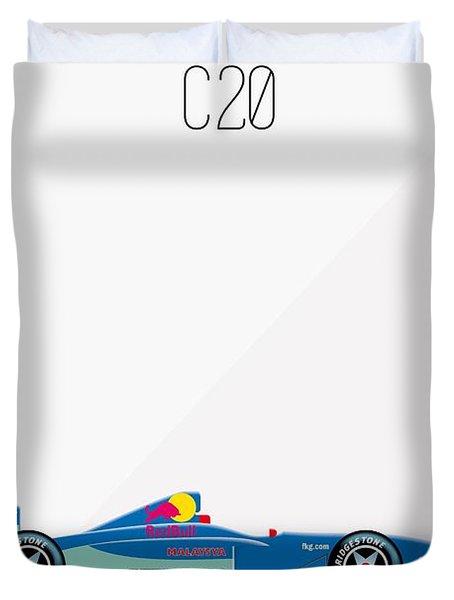Sauber Petronas C20 F1 Poster Duvet Cover