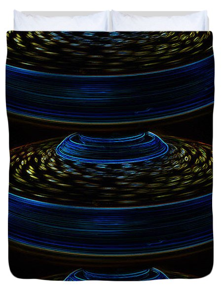 Saucers Duvet Cover by David Lee Thompson