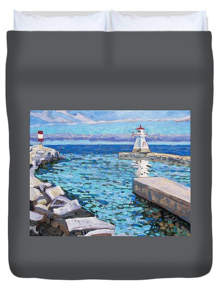 Saugeen Range Light Duvet Cover