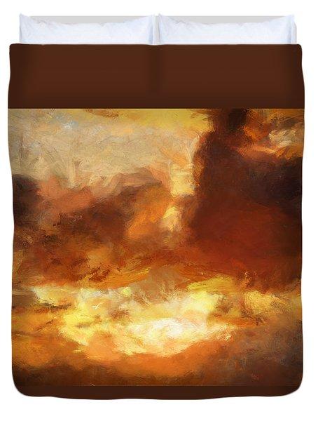Saulriets Duvet Cover