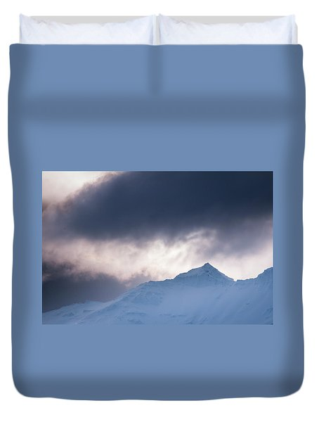 Savage Mountain Duvet Cover