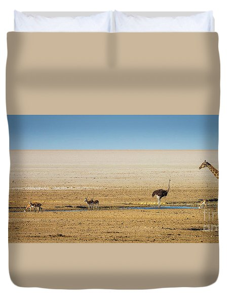Savanna Life Duvet Cover by Inge Johnsson