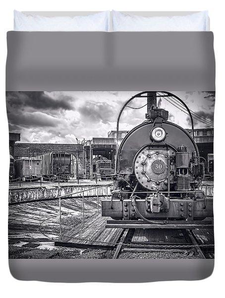 Savannah Central Train Yard Duvet Cover by Scott Hansen