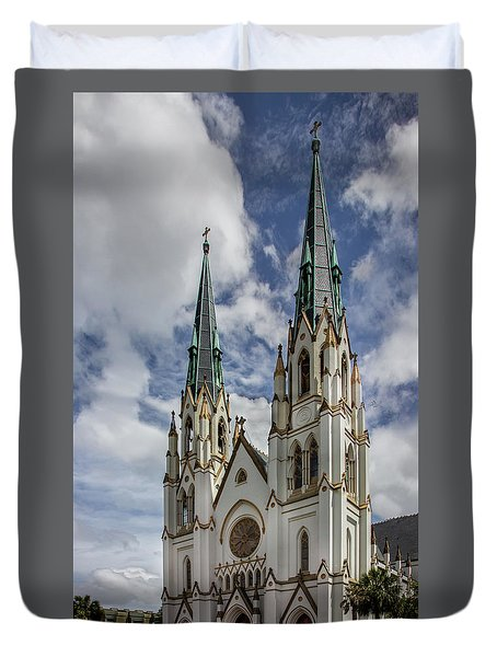 Savannah Historic Cathedral Duvet Cover