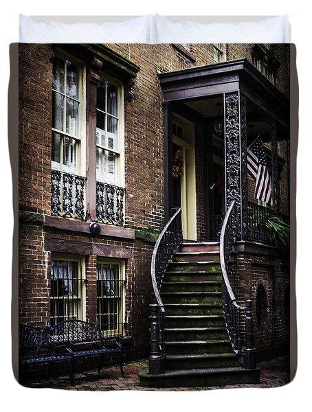 Savannah Duvet Cover by Judy Wolinsky