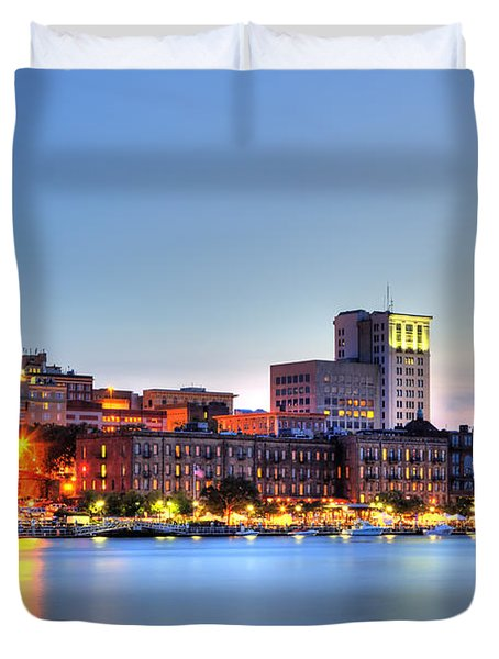 Savannah Skyline Duvet Cover