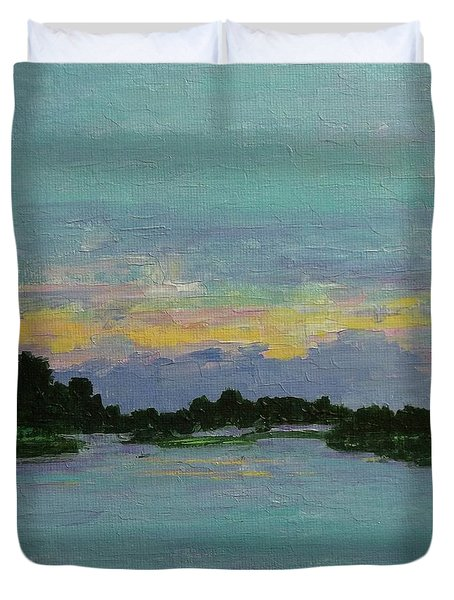 Savannah Sunrise Duvet Cover
