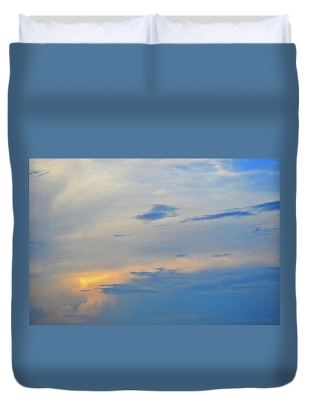 Savannah Sunset Duvet Cover