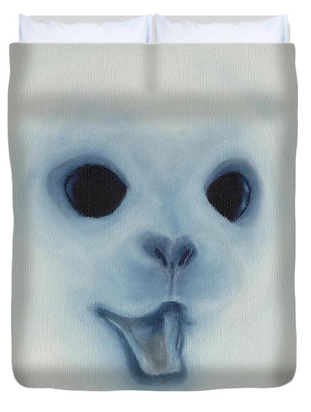 Save The Baby Seals Duvet Cover by Annemeet Hasidi- van der Leij